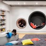 12 Rozet Arnhem Bibliotheek Gestoffeerde ronde nissen en minitribune dMdJS 150x150 - Rozet Arnhem