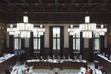 Raadzaal Rotterdam College
