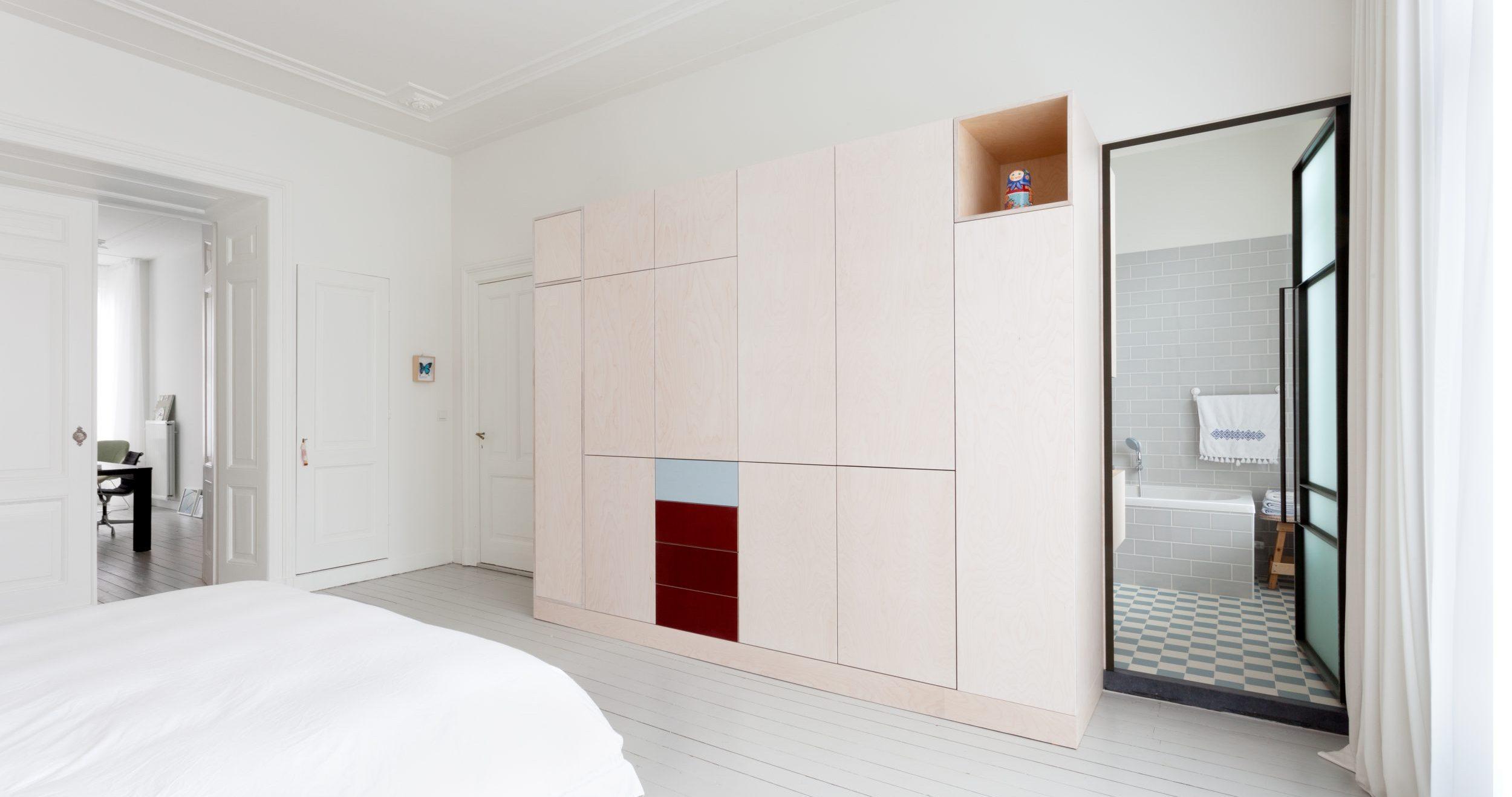 wandkast badkamer slaapkamer